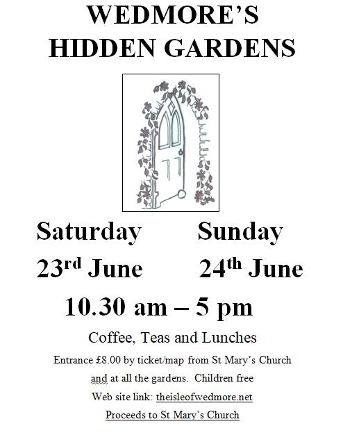 Wedmore's Hidden Gardens