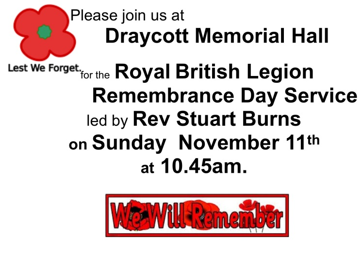 Remembrance poster 2018